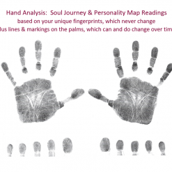 Hand Analysis Sessions Offer - Hand Prints image